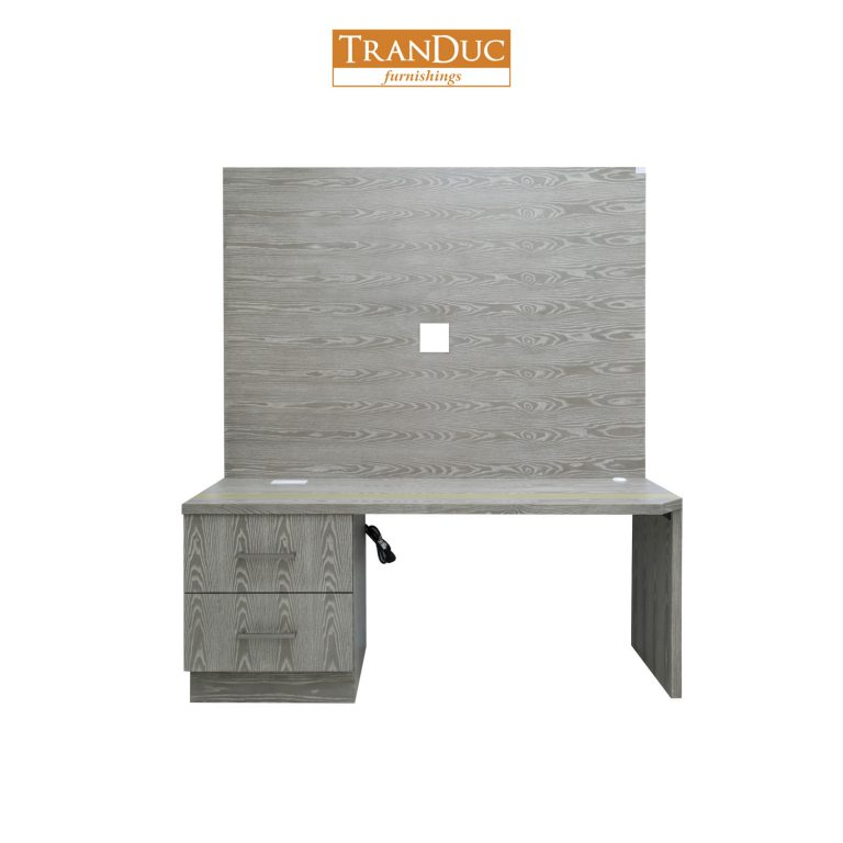 Desk with TV Panel - 54117 - Edited -1v2