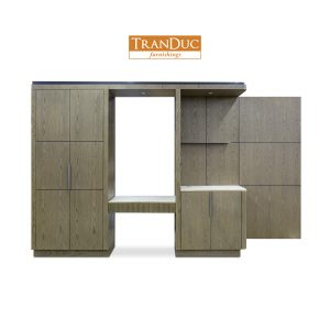 LH Wooden Panel (E2) - JW Marriott Charlotte -1